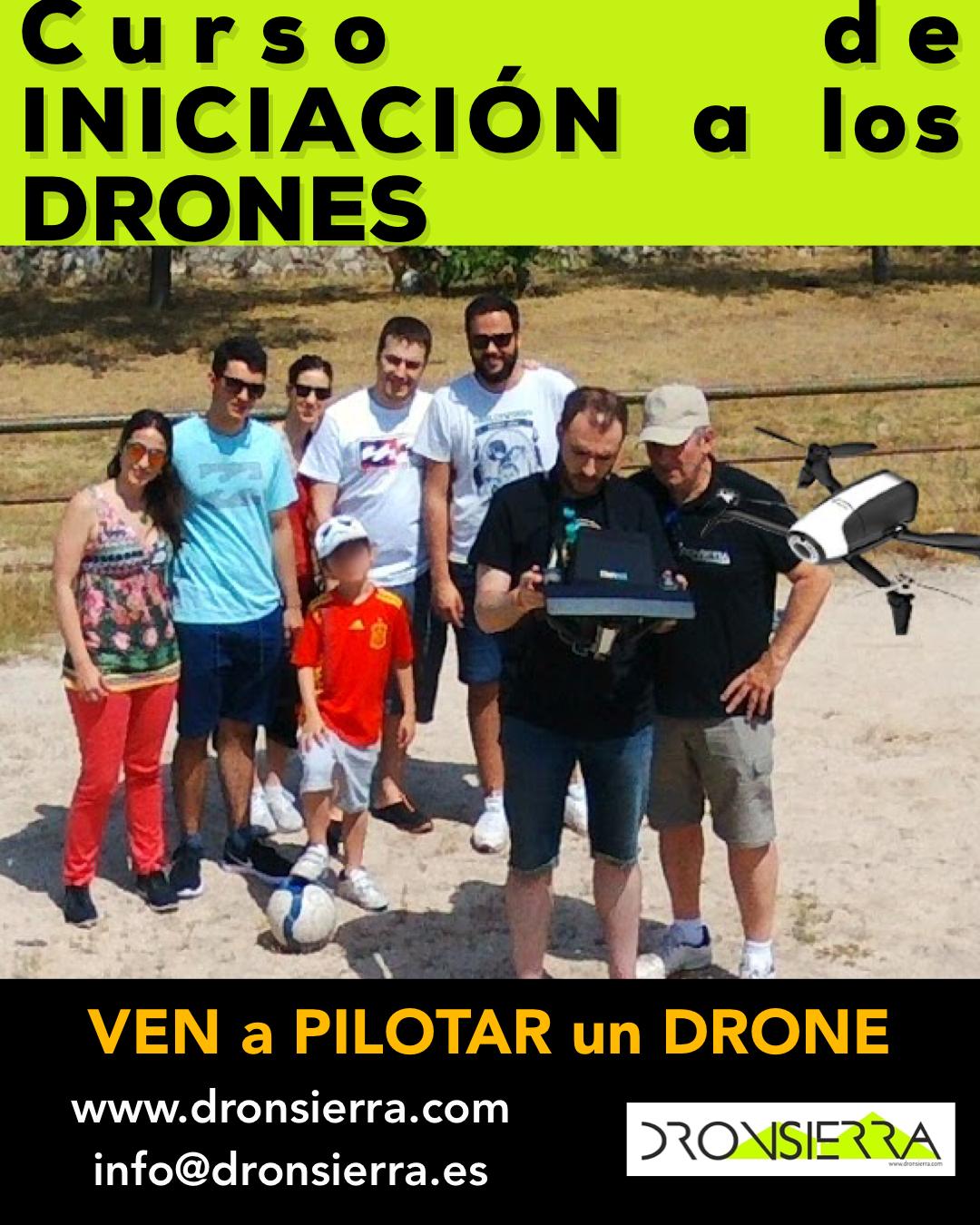 CURSO DE INTRODUCCION A LOS DRONES / UAS / RPAs